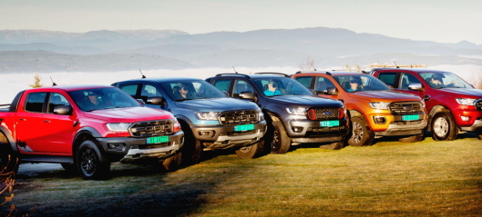Ford Ranger: Mest solgte pickup i Norge