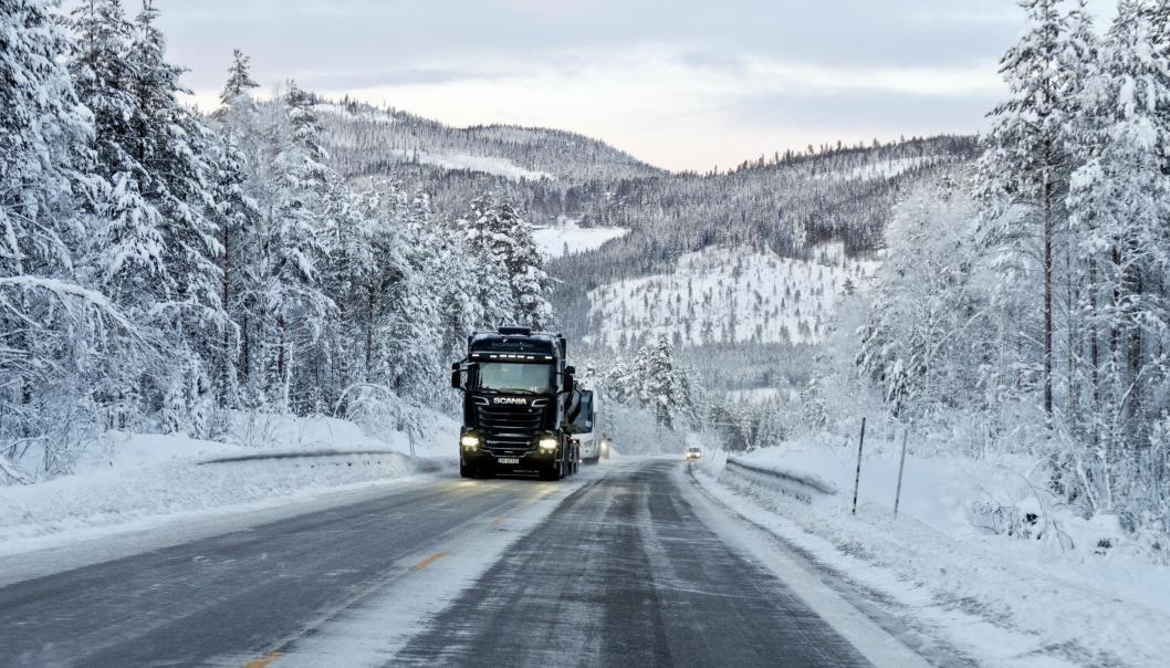 Illustrasjonsbilde (som riktignok er fra en riksvei i Innlandet, men du finner lister over både fylkesveier, riksveier og kommunale veier i lenken i artikkelen.