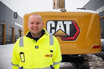 Ny produktsjef for Cat gravemaskiner