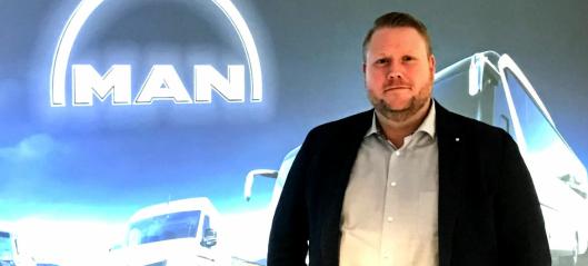 Ny bruktbilsjef i MAN Truck & Bus Norge