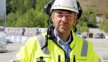 Gaute Fisknes, daglig leder Scandia Maskin. Foto: Klaus Eriksen