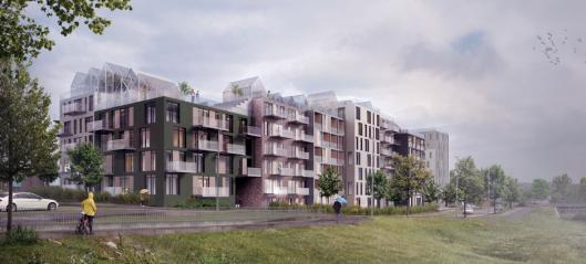 Bonava bygger 500 leiligheter i Vestby