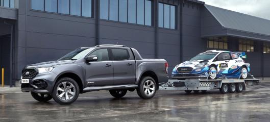 Ford lanserer rallyinspirert Ranger-variant