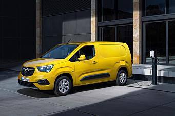 Lanserte nye Opel Combo-e