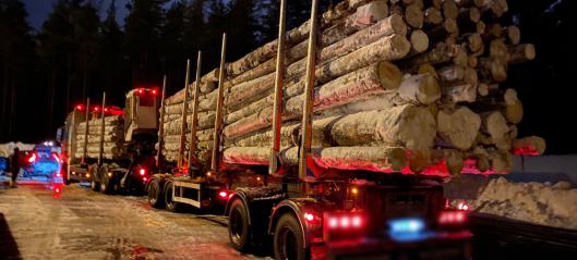 Tømmerbil-sjåfør stoppet og anmeldt tre ganger for det samme på én uke