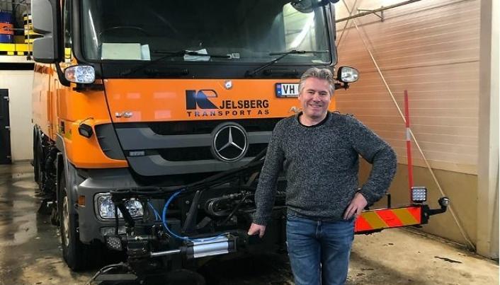 Daglig leder i Kjelsberg Transport, Svein Idar Kjelsberg er glad for å ta med sine 17 ansatte inn i det ambisiøse og kundeorienterte konsernet, Norva24.