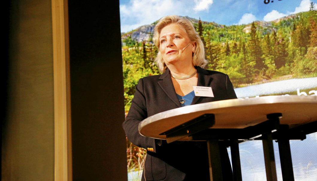 - Dette er en svært gledelig anerkjennelse av vår bransjes bærekraftsarbeid, sier generalsekretær i Norsk Bergindustri, Anita Helene Hall.