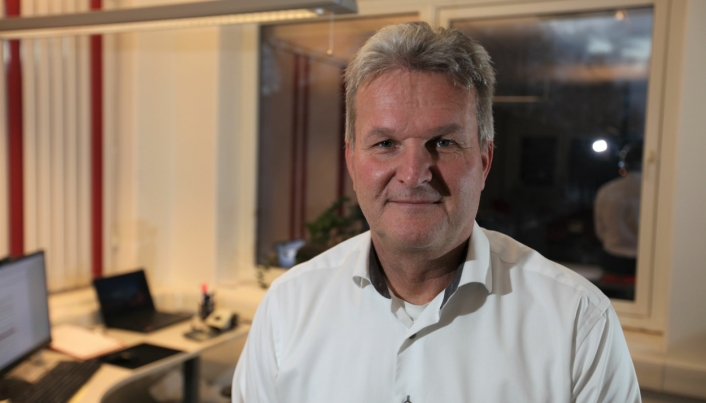 Gunnar Moe, adm. direktør i Rana Gruber.