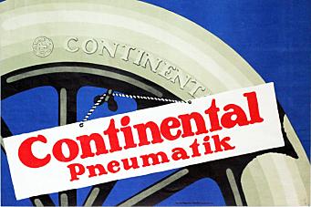 Det er 100 år siden Continental lanserte luftfylte dekk til lastebiler