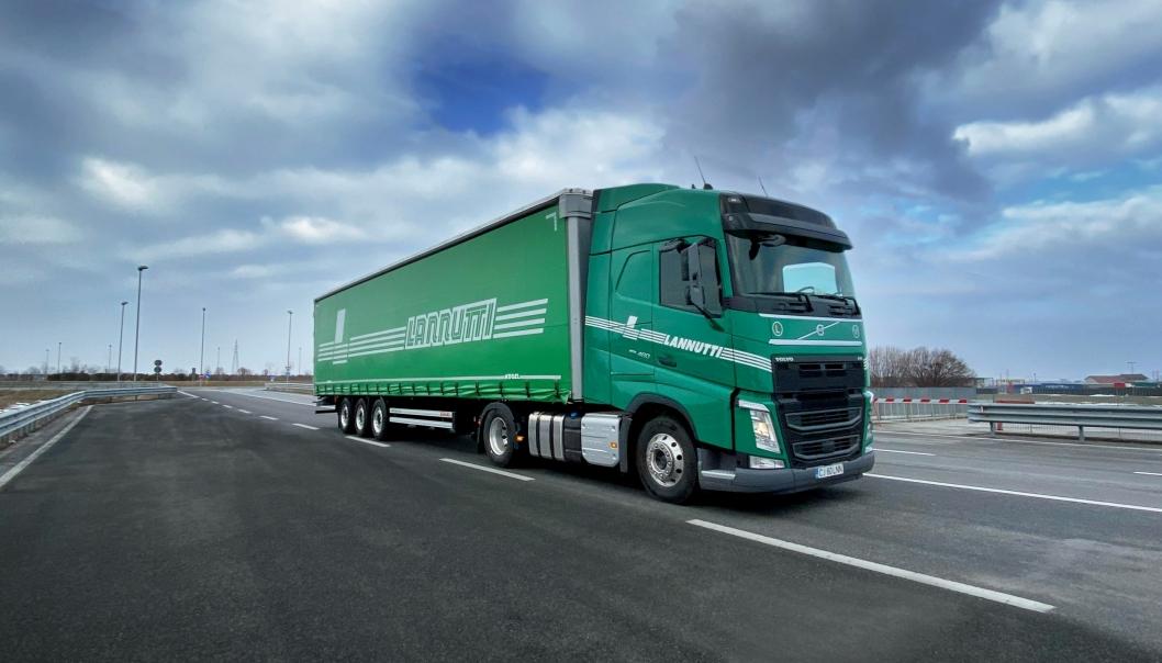 Italienske Lannutti Group har bestilt 1000 stk. Volvo FH I-Save.