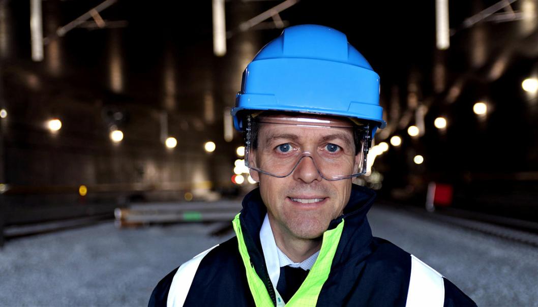 - Vi håper at reduksjonene i utslipp fra biler kan føre til kutt i andre tunneler i fremtiden, sier Hareide.
