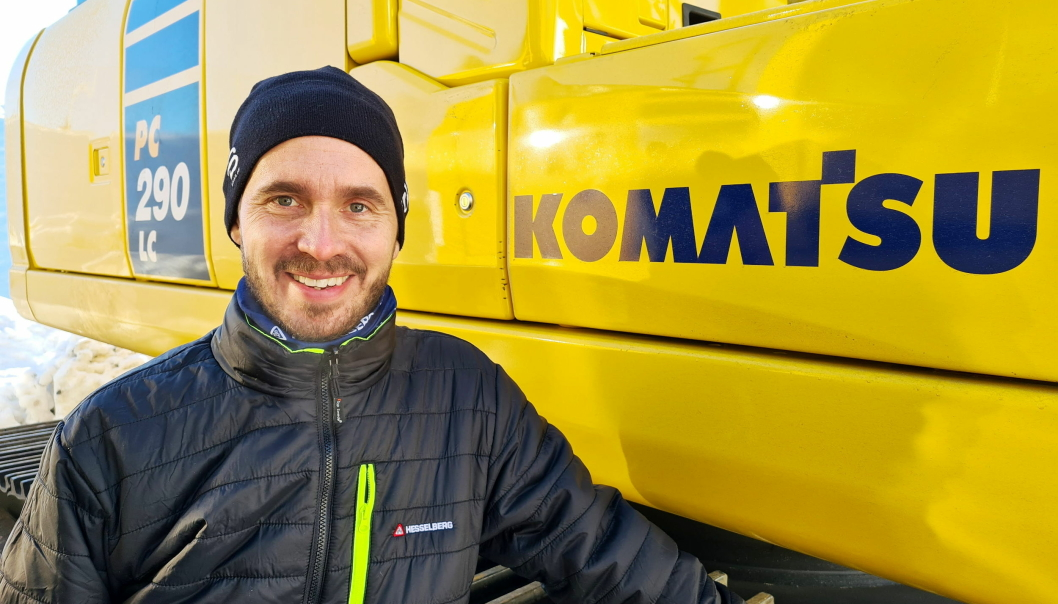 Henrik Birkelund startet 1. februar som Key Account Manager i Hesselberg Maskin med ansvaret for Komatsu. Foto: Hesselberg Maskin