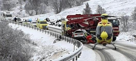 Rapport om dødsulykke på E6 i Oppdal i Trøndelag