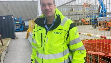 HMS-sjef Lars-Morten Rostad i Ramirent Norge.  Foto: Ramirent