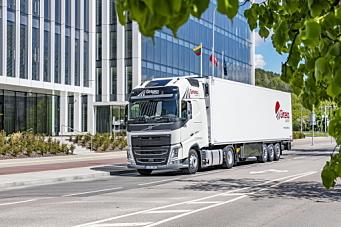 Kjøper 2000 Volvo-lastebiler