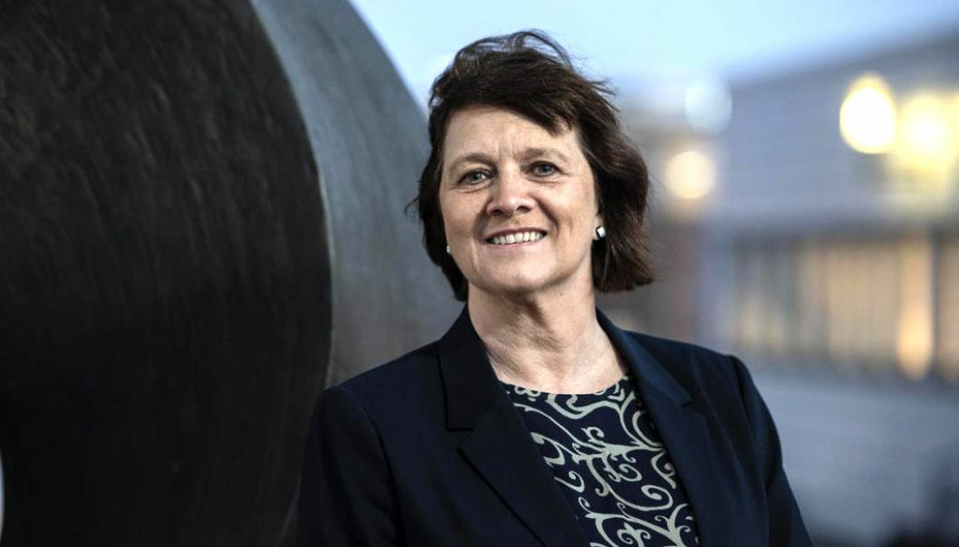 Kristina Hansen (Ap), fylkesråd for samferdsel, har bedt staten bidra med ekstra midler til fylkesveiene i Norges nordligste fylke.