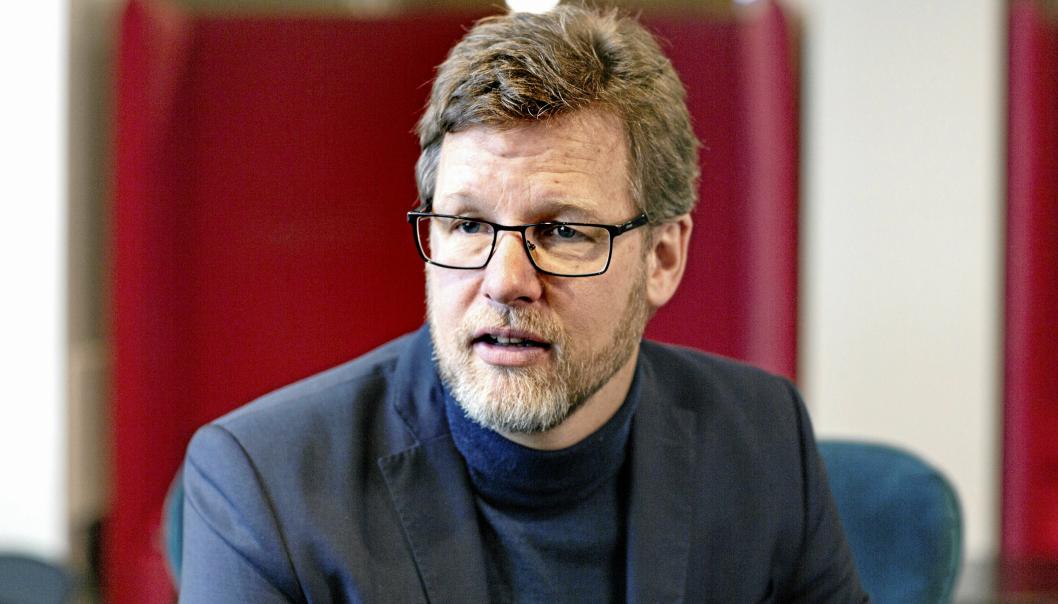 KONSERNSJEF: Jimmy Bengtsson i Veidekke ASA. (Foto: Veidekke)