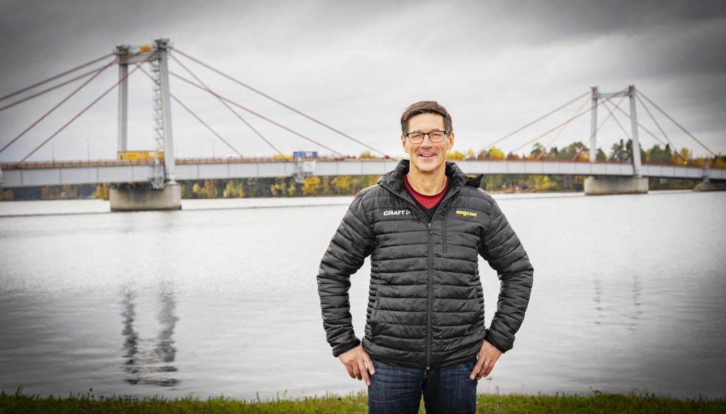 HEDRET: Stig Engström, en av seks som er hedret med H.M. Kongens medalje i år.