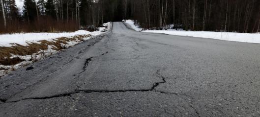 Nær en halv milliard til rassikring og oppgradering av fylkesveier