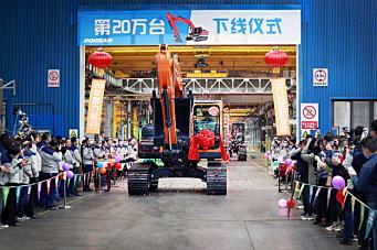 Doosans Kina-rekord