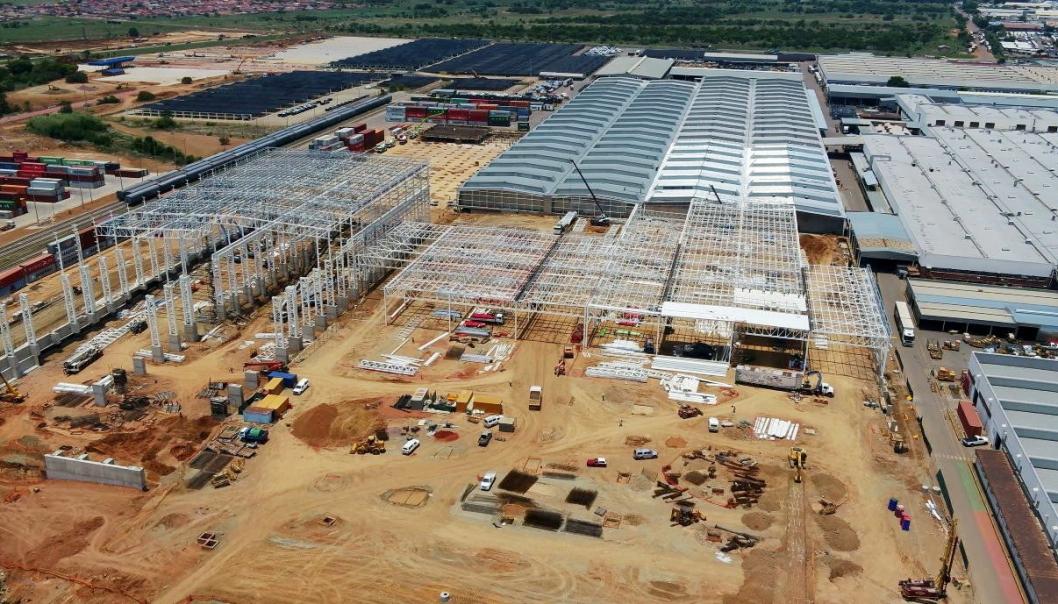 OPPGRADERING: Fords Silverston-fabrikk i Sør Afrika oppgraderes i 2021.