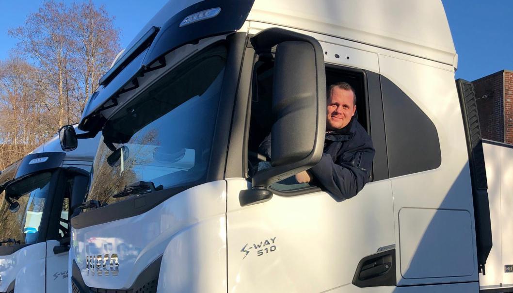 Jonas Angermo er ny Key Account Manager i Iveco Norge AS.
