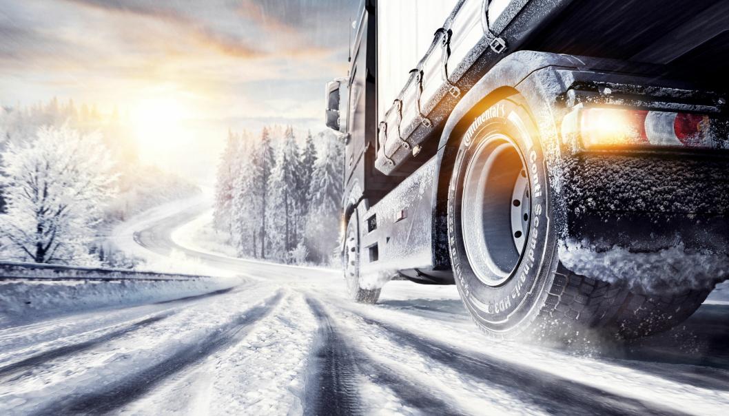 KOMPLETT: Conti Scandinavia vinterdekk for transportnæringen har en rekke nyheter yrkessjåførene vil sette pris på.