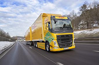 Batterielektrisk Volvo FH med vogntogvekt på opptil 60 tonn
