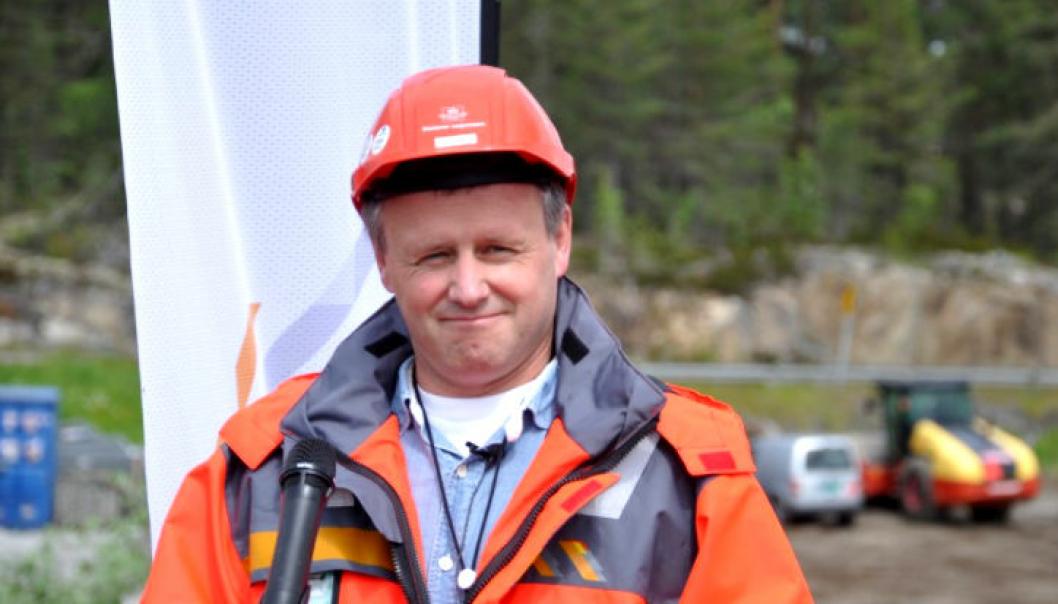 Prosjektleder Tom Hedalen er godt fornøyd med at Samferdselsdepartementet ga grønt lys for å utvide etappe 2 av Vestkorridoren til Nesbru.