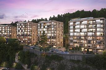 Bygger 163 leiligheter i massivtre som FutureBuilt-prosjekt