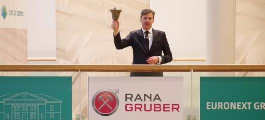Nå kan du kjøpe Rana Gruber-aksjer