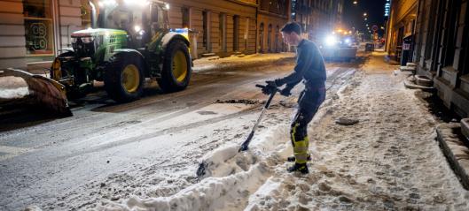 Ny utfordring i snøen