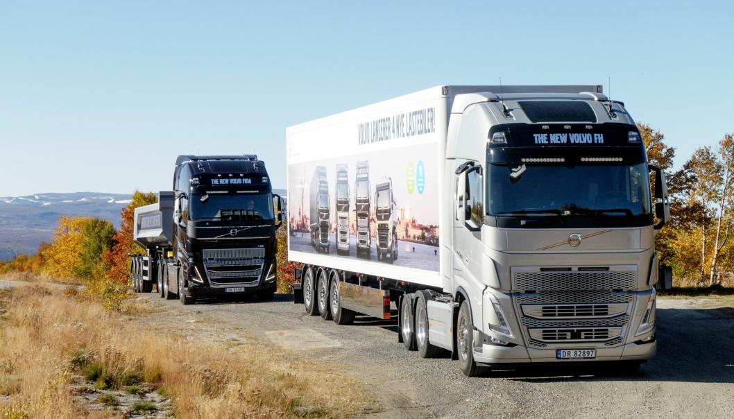 FORBEDRET: Også Volvo FH og FH16 har fått store forbedringer