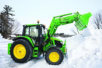 Lei en traktor for en dag av Felleskjøpet