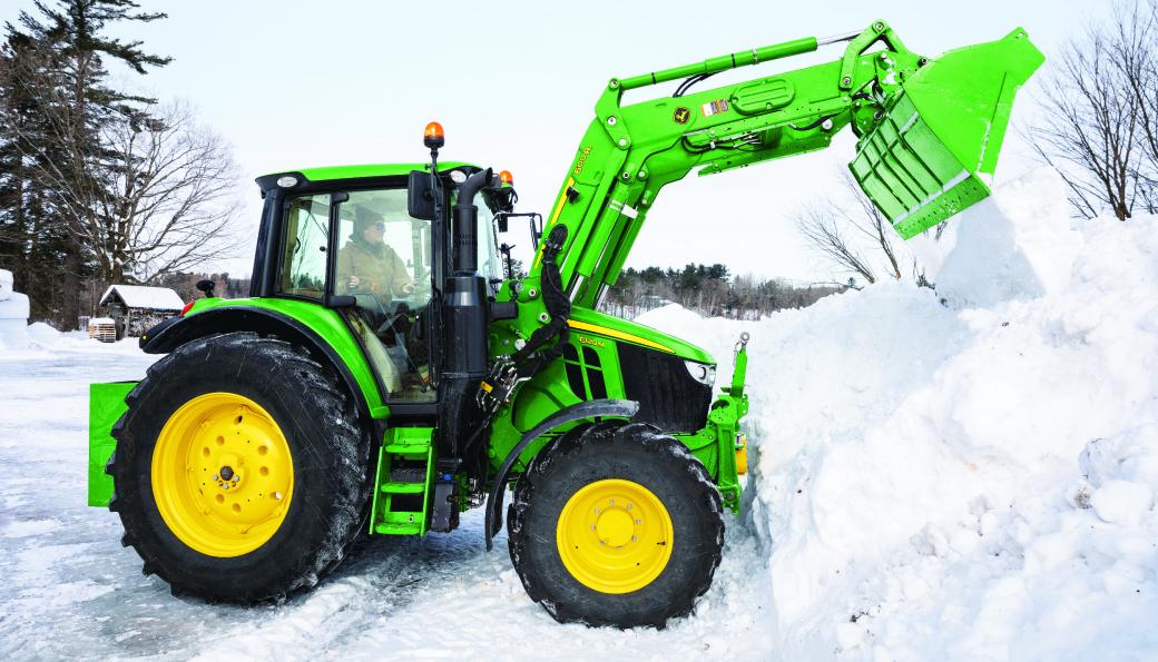 Denne traktoren kan leies en dag for 2700 kroner inkl. mva, eller for 1330 kroner per dag ved leie i fire uker.