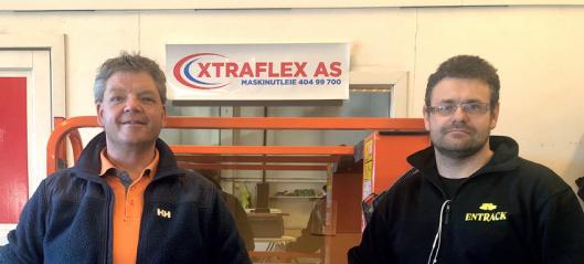 Entrack Utleie kjøper Xtraflex Maskinutleie