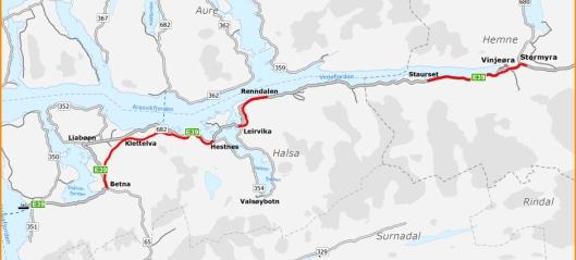 Fransk, kinesisk og norsk interesse for å bygge E39-strekning