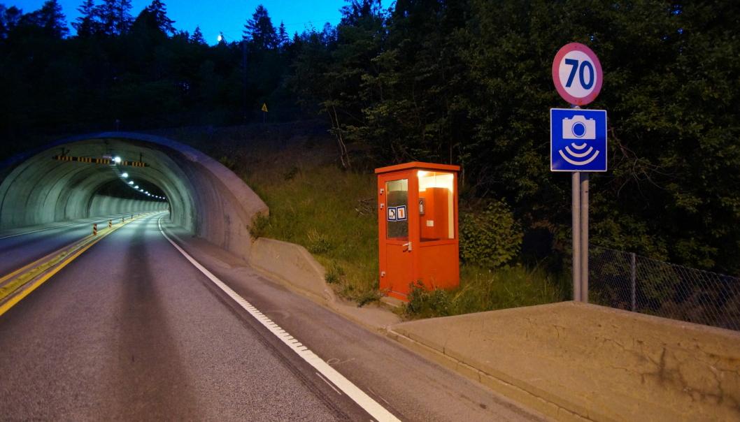 Hovet-tunnelen er en av de to på E18 som Roxel Infra skal oppgradere.