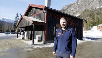 UVDAL: O. Nørstebø & Sønn AS holder til i Uvdal i Numedal. Her er daglig leder og eier, Ole Vegar Nørstebø. Foto: Klaus Eriksen