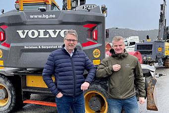 B&G Gruppen bestiller 19 Volvo-maskiner