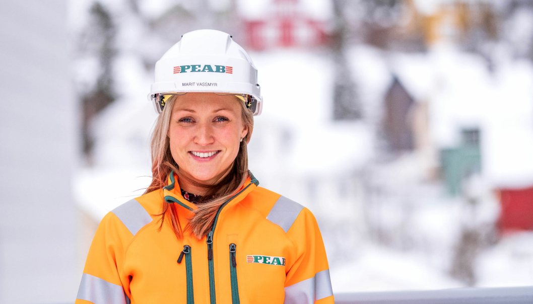 Marit Vassmyr er ny miljøsjef i Peab Bygg Norge.
