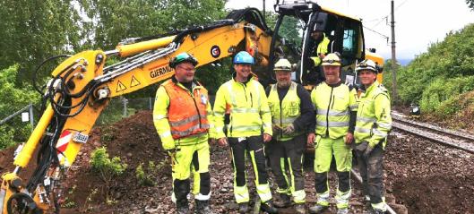 Gjermundshaug Anlegg tildelt kontrakt på Røros‐ og Solørbanen