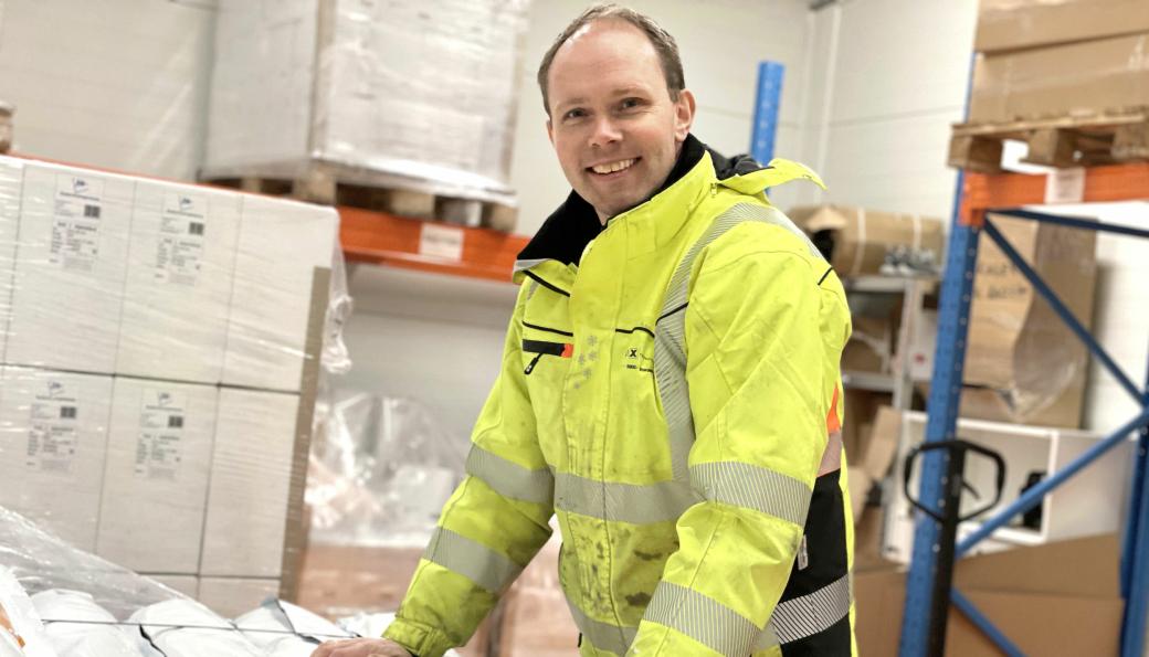 Espen Øvstebø, daglig leder i Sustinera AS, skal nå utvide sortimentet til å gjelde mer enn radonsikring.