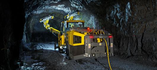 - Verdens første tunnelrigg med intern hydraulikk
