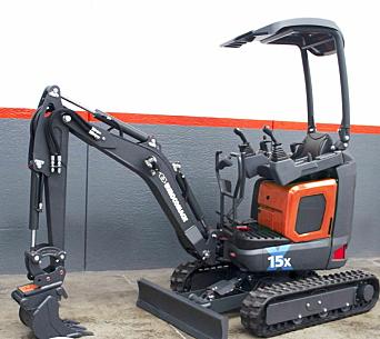 ELEKTRISK: I tredje kvartal starter produksjonen i Italia av første batteridrevne maskin Eurocomach 15X. Foto: Eurocomach