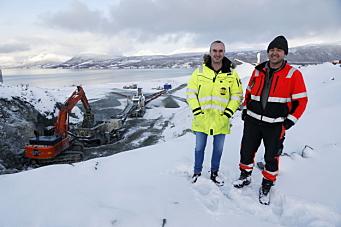Bergneset Pukk & Grus «boostet» opp produksjonen