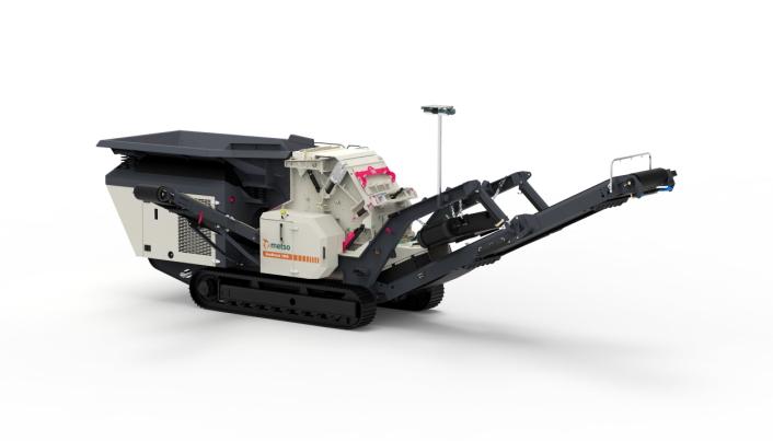 NY: Slagknuseren Nordtrack I908 slagknuser er lite og kompakt, og beregnet for mindre jobber. Foto: Metso Outotec