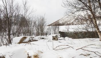 DET VAR ENGANG: Et hus i Fjordgård. Foto: Klaus Eriksen