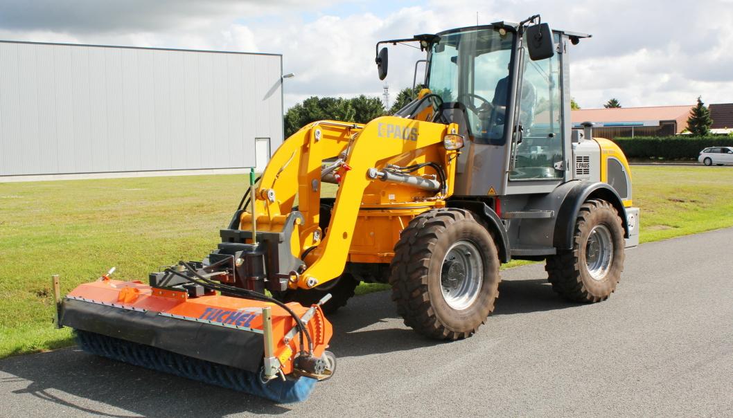 NY SERIE: Tyske Paus har lansert seks nye modeller fra 6,9-7,7 tonn.