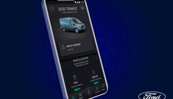 MINDRE: For mindre bedrifter med inntil fem kjøretøy kan FordPass Pro-appen sørge for kontroll med nødvendig vedlikehold for kjøretøyene.